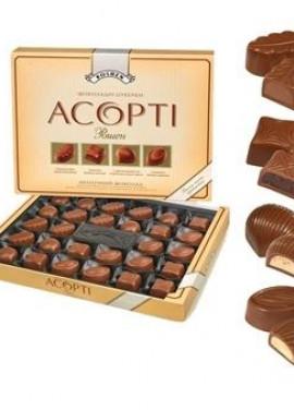 Ассорти, Рошен (молочный шоколад),434г