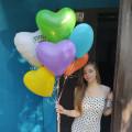 Baloons hearts