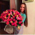 Biggest bouquet of roses
