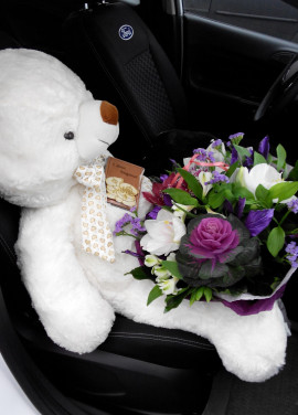 White Bear 100 cm