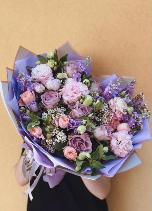 Lavender mix bouquet