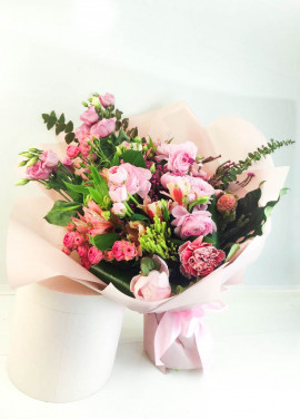 Pink mix flowers