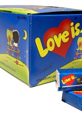 """gum """"Love is .."""" 100pcs"""