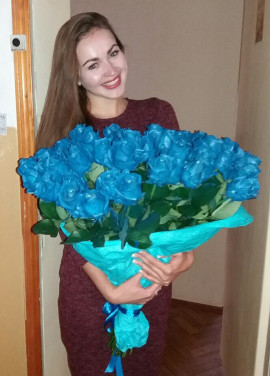 """Blue roses """"Fifth element"""""""