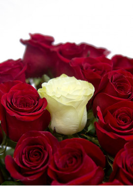 """Bouquet of roses """"The only one"""""""