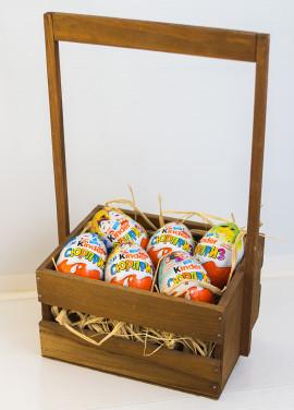 Kinder surprise basket