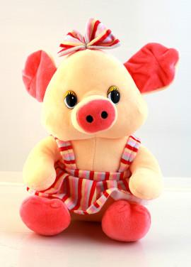 Piggy with a skirt